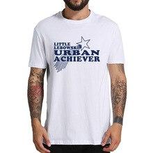 El gran Lebowski T Shirt Little Lebowski urbano Achiever camiseta Crime película de comedia puro algodón Vintage cómodo Camisetas cuello redondo