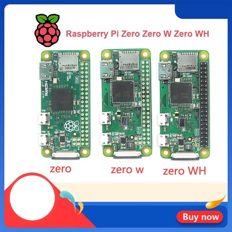 Original Raspberry Pi Zero V 1.3 Zero W WH Wireless WIFE Bluetooth Board with 1GHz CPU 512MB RAM Raspberry Pi Zero 1.3 Version