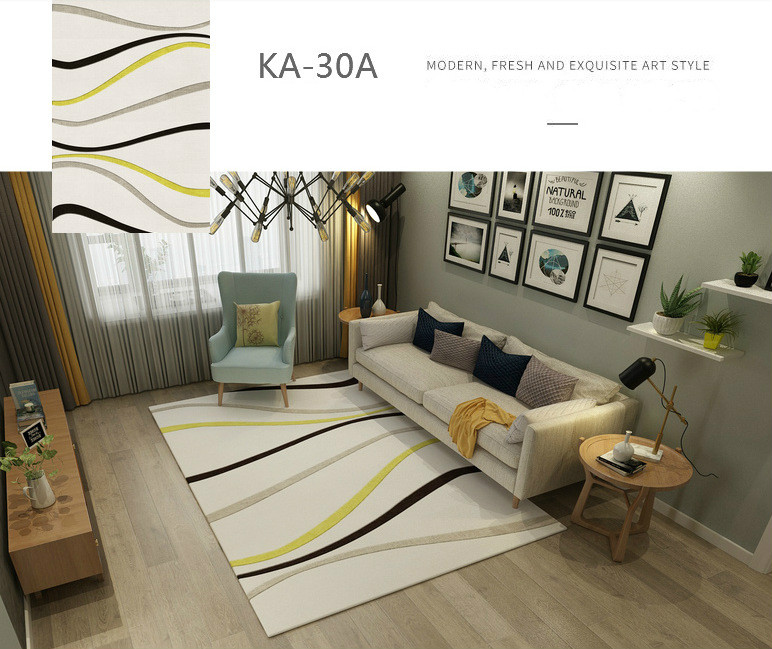 padrão geométrico piso almofada tapetes para o quarto sala estar grande