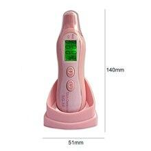 Портативный ЖК-дисплей для лица, цифровой измеритель влажности кожи лица, масло, вода, монитор, детектор, анализатор для лица, инструменты для ухода за кожей