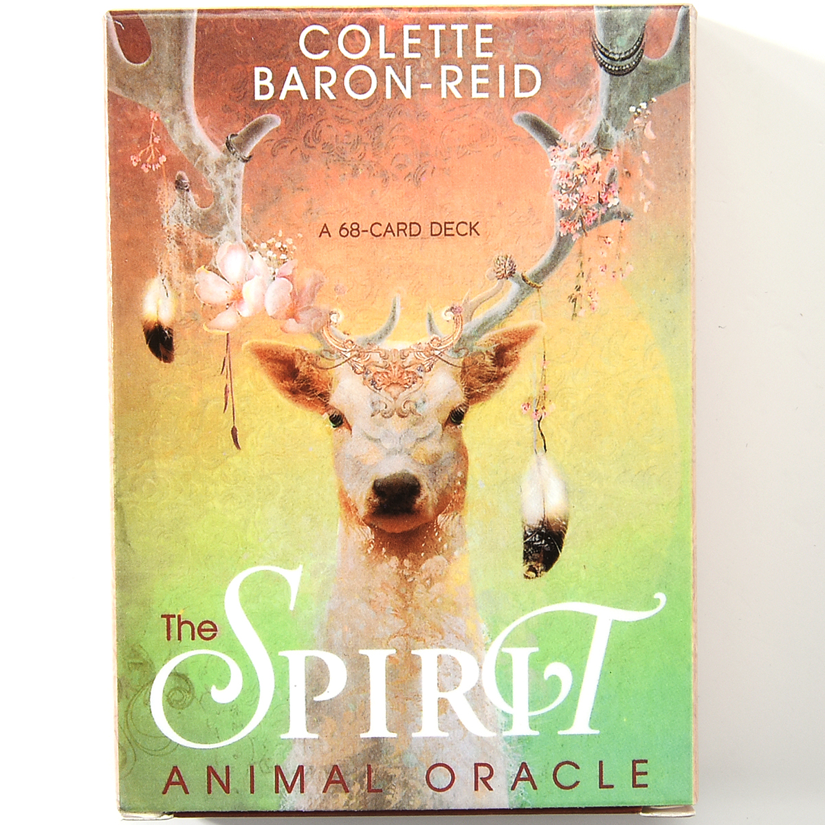 The Spirit Animal Oracle A 68-Card Deck And Guidebook Oracle Divination Baron Reid Insects Fish Card Game Board