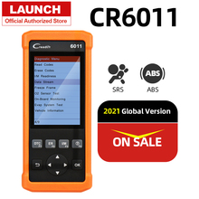 launch CR6011 Auto Scanner OBD2 Scan Tool Creader 6011 Abs Airbag Scaner Automotive Airbag Diagnostic Tool Obdii Obd Test
