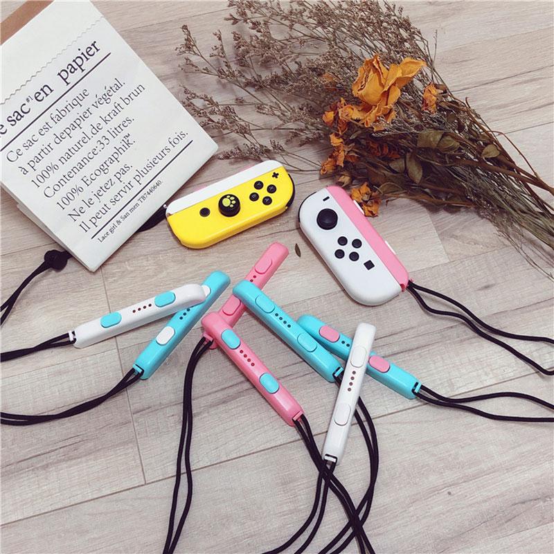 Переключатель Joy-Con ремешок милый красочный ручной ремешок на запястье NS браслет для relod переключатель Joy Con контроллер ремень аксессуары