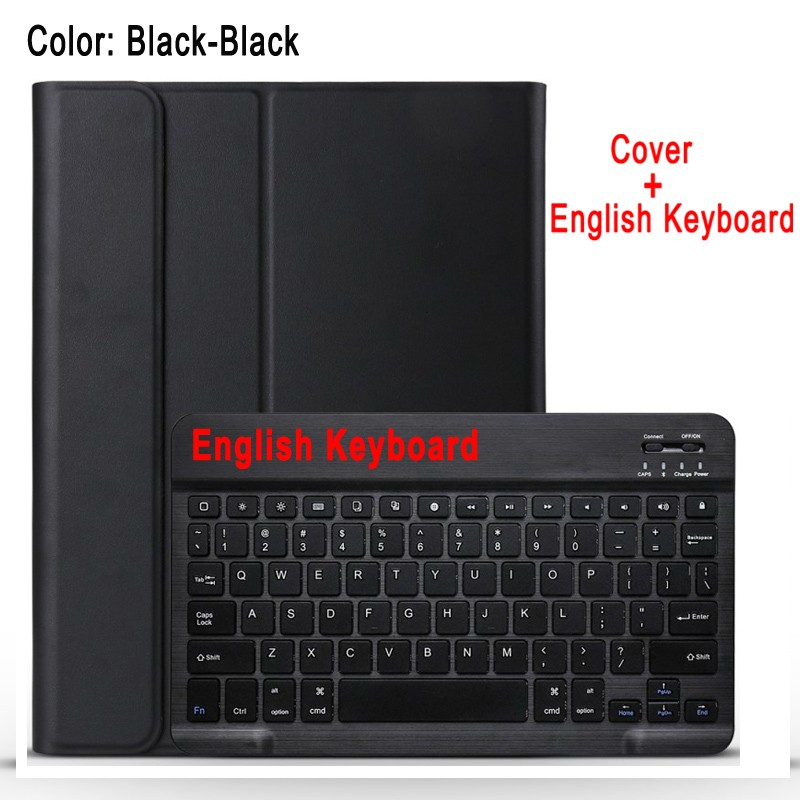 English Keyboard Red Case Keyboard For Apple iPad 10 2 2019 7 7th 8th Gen Generation A2197 A2200 A2198