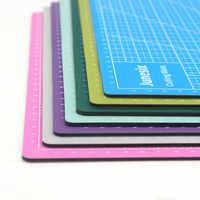 1 pieza 30*22cm A4 líneas de cuadrícula autosanadora estera de corte arte Tarjeta de tela de cuero tablero de papel