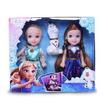 3pcs Disney Frozen 2 Frozen doll toy Anna Aisha Snowman Toy Baby's birthday present Girl christmas gift toy Anime figurine frozen aisha queen children s birthday party christmas props decoration set kids toy for children gift