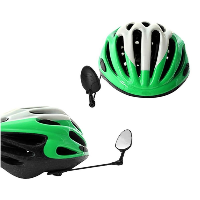 Bike Bicycle Cycling Rear View Safety Helmet Motorcycle Rearview Mirror