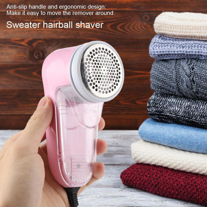 Hairball Trimmer Electric Mini Fabric Lint Removers Portable Epilator Sweater Clothes Fuzz Pills Shaver Fluff Pellets Eu Plug|Lint Removers| |  - title=