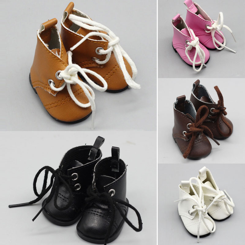 5cm Doll Boot For 1/6 BJD 14 Inch American Baby Doll EXO Fashion Mini Shoes With Socks High Quality Doll Accessories Toys
