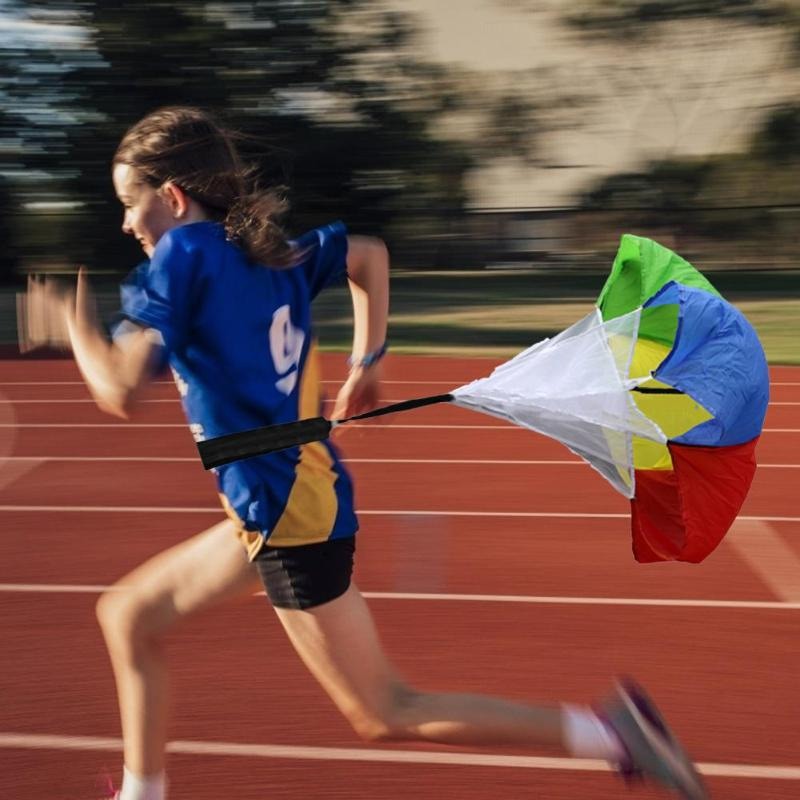 Hot Sale Speed Training Resistance Parachute Kids Speed Training Resistance Parachute Running Chute For Soccer Basketball