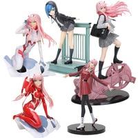 Anime LIEBLING in die FRANXX Figur Spielzeug LIEBLING in die FRANXX Null Zwei 02 Ichigo PVC Action Figure Modell Spielzeug