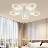 LED Chandelier Remote Control Modern Bedroom Living Room Chandelier Home Lighting Decoration Supplie indoor Lamp Luminaires