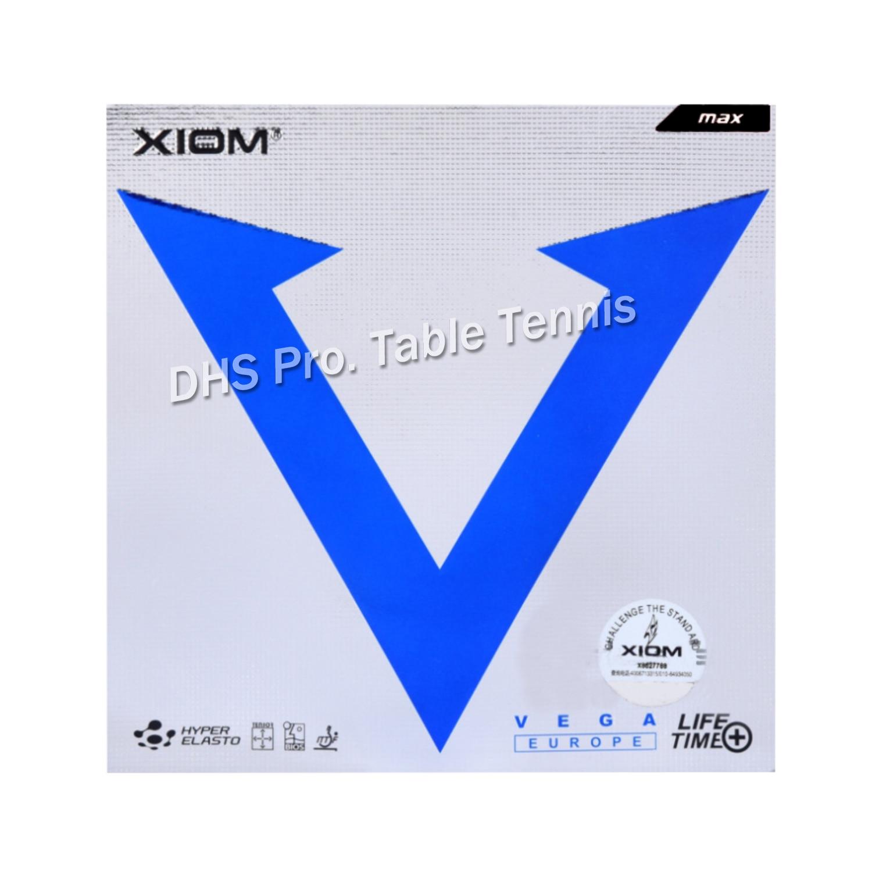 XIOM Original VEGA Europe  Table Tennis Rubber Ping Pong Sponge Tenis De Mesa