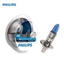 Philips 12258DVS2 Auto Head Light 2 PCs H1 12V 55W P14.5s 5000K White cold. light-голуб. оттен Diamond Vision Halogen blister