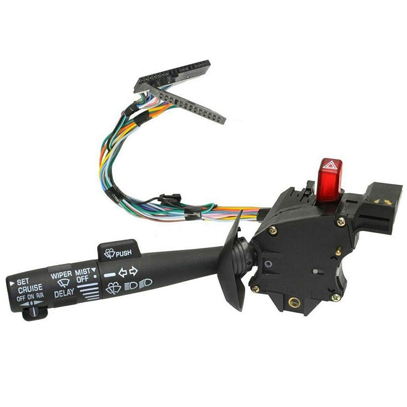 Blazer K1500 Washers Suburban Turn Signal Wiper 26100985 26036312 D826A- Chevy Tahoe Cruise Control Replaces Part # 2330814 Sierra ConPus Hazard Switch Multi-Function Combination Switch