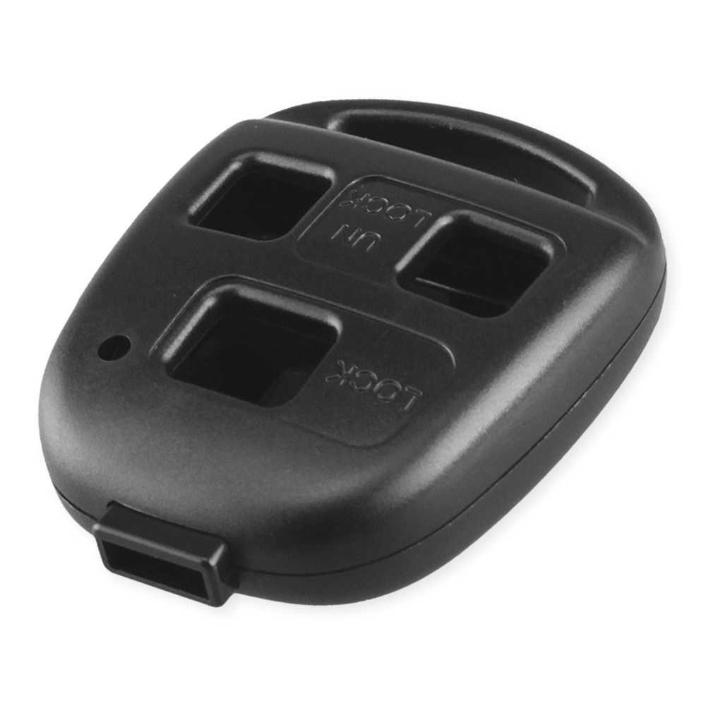 Dandkey 2/3 버튼 원격 자동차 키 쉘 케이스 렉서스 RX300 ES300 LS400 도요타 RAV4 랜드 크루저 YARIS 캠리 키 쉘 없음 블레이드