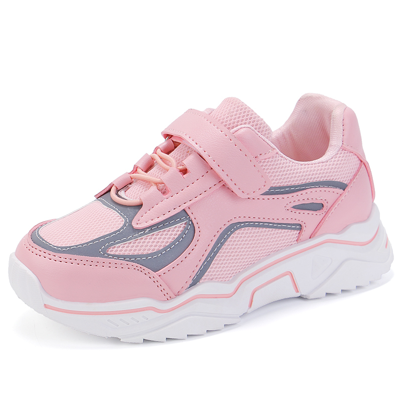 2019 Mesh Autumn Girl Boys Sport Shoe For Kids Fashion Sneakers Children Trainers Running Shoe 2 3 4 5 6 7 8 9 10 11 12 Year Old