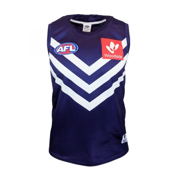 AFL FREMANTLE DOCKERS 2019 MEN'S HOME JERSEY size S-3XL Print custom names and numbers Top quality Free shipping(China)