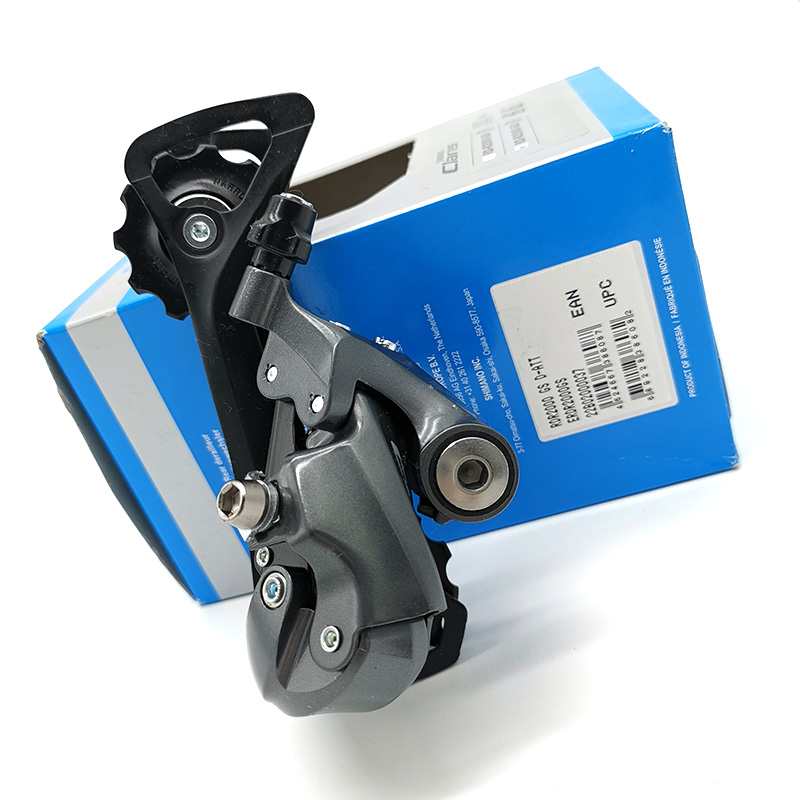<font><b>Shimano</b></font> <font><b>Claris</b></font> Road Bicycle RD-<font><b>R2000</b></font>-GS 8 Speed Medium Cage Rear Derailleur Bike Parts image