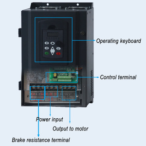 Image 4 - WK600 Vector Control frequency converter Three phase variable frequency inverter 380V 15kw/18.5kw/22kw ac motor speed controller