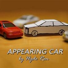 Aparecendo carro truques mágicos cartão para papel carro mágico close-up adereços acessórios ilusão brinquedo engraçado