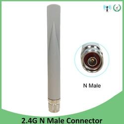 2.4 ghz 5 gigahertz 5.8 gigahertz antena dupla wifi 5dbi n conector macho 2.4 ghz 5g 5.8g antena wi-fi sem fio antena roteador