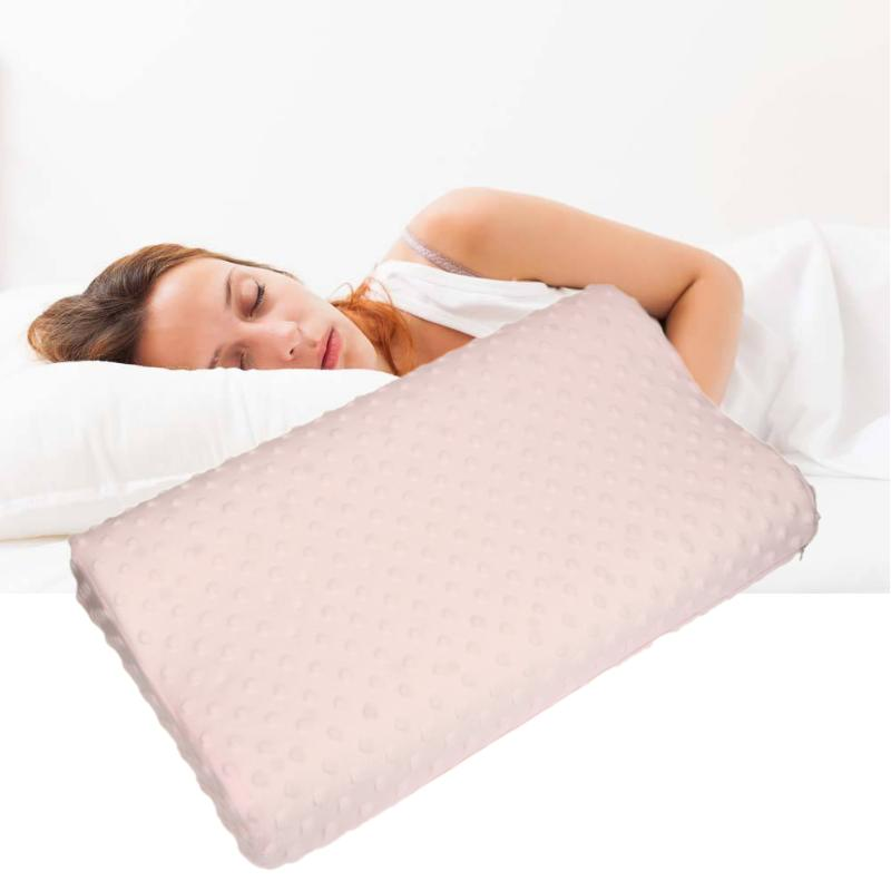 <font><b>50</b></font> X <font><b>30</b></font> X 9cm Soft Pillow Cases Slowly Rebound Memory Foam Space Pillow Cases Neck Cervical Healthcare Memory Pillow Case image