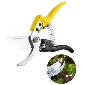 Image 2 - NINDEJIN Garten Werkzeuge Bauernhof Rebschnitt Schere Pfropfen Bonsai Werkzeuge Garten Scissor Anlage Zweige Cutter Elektroschere Für die Garten