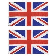 цена на 1/2 PC British Flag great british banner flag 5*3FT 90*150cm united kingdom national polyster uk flag