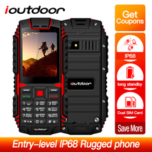 ioutdoor T1 2G Feature Mobile Phone IP68 Waterproof Shockpro