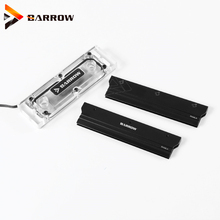 Barrow a PMMA water cooling block RAM  4 channels compatible water cooling kit RAM Water block cooler with armor RAMWBT-PA origins hit refresh cooling moisturizer with hawaiian mineral water