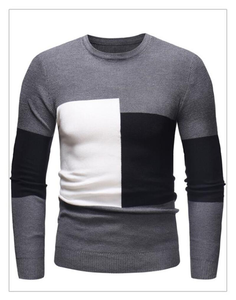 2021 Winter New Arrivals Thick Warm Sweaters O-Neck Wool Sweater Men Brand Clothing Knitted Cashmere Pullover Men M-2XL 3
