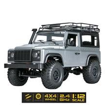 1:12 Масштаб MN модель RTR версия WPL RC Автомобиль 2,4G 4WD MN99S MN99-S RC Рок гусеничный D90 Defender пикап Дистанционное управление грузовик игрушки