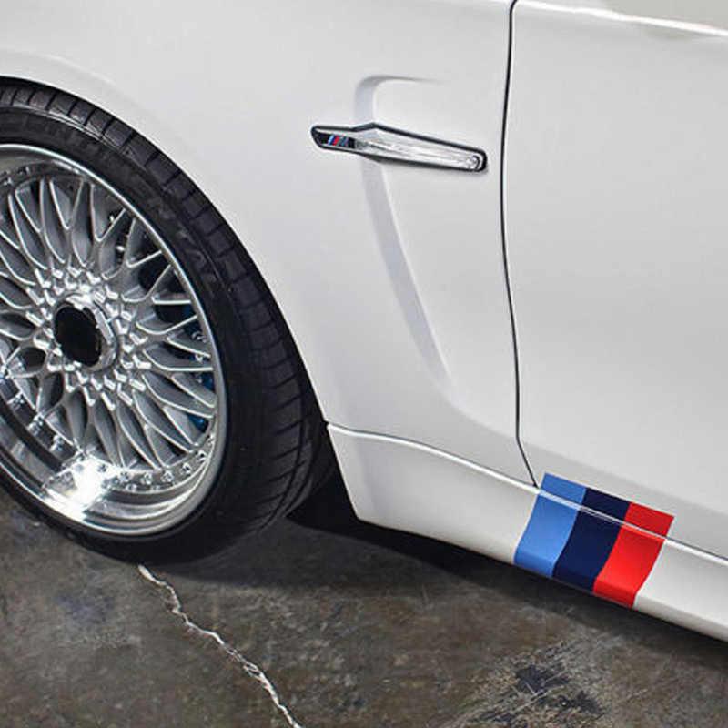 3 pièces/ensemble autocollant de voiture PVC rein Grille rayure autocollant convient pour BMW M3 M5 M6 E46 accessoires de voiture intérieur pièces d'auto décoration