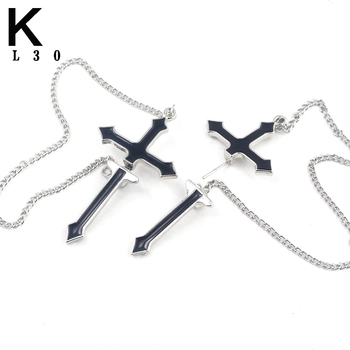 Statement Punk Korea Cross Earrings For Women Men Fashion Hip Hop Personality tassels Pendant Drop Earrings.jpg 350x350 - Statement Punk Korea Cross Earrings For Women Men Fashion Hip Hop Personality tassels Pendant Drop Earrings Cosplay Jewelry