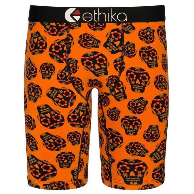 Boxer longue jambe Ethika hommes sous-vêtements boxeurs pour hommes Calecon Boxer Homme Sexy confortable planche à roulettes