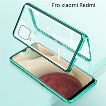 Double Sided Tempered Glass Magnet for Xiaomi Redmi Note 9s 8T 9T 7 K20 K30 Pro 8 8A Mi 9T 10 Pro 360 Full Protection Flip Cover