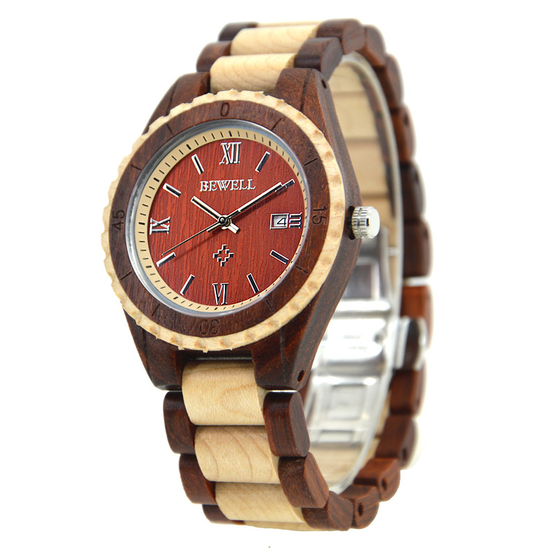 2019 New Arrival Real Mr Weill Watches Manufacturer Wholesale Watch Quartz Noble Elegant Wood Couple