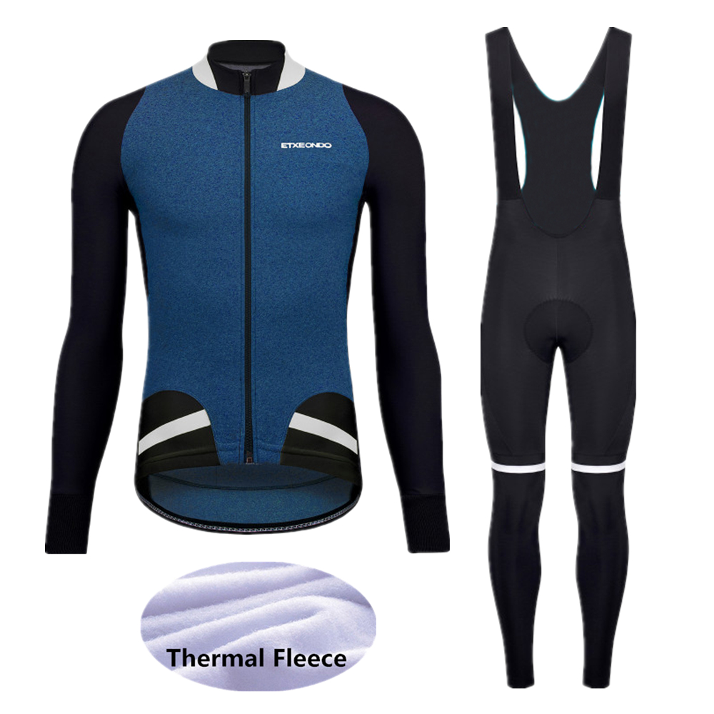 2020 Pro Winter Thermal Fleece Etxeondo Cycling jerseys Sets MTB  Bike Clothes Wear Long Sleeve Bicycle Clothing -E318
