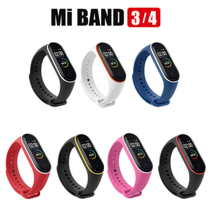 Image 5 - 100 יח\אריזה עבור Mi Band 3 רצועת Miband 4 רצועת יד סיליקון Mi Band 4 3 צמיד החלפת Miband 3 4 צמיד סיליקון