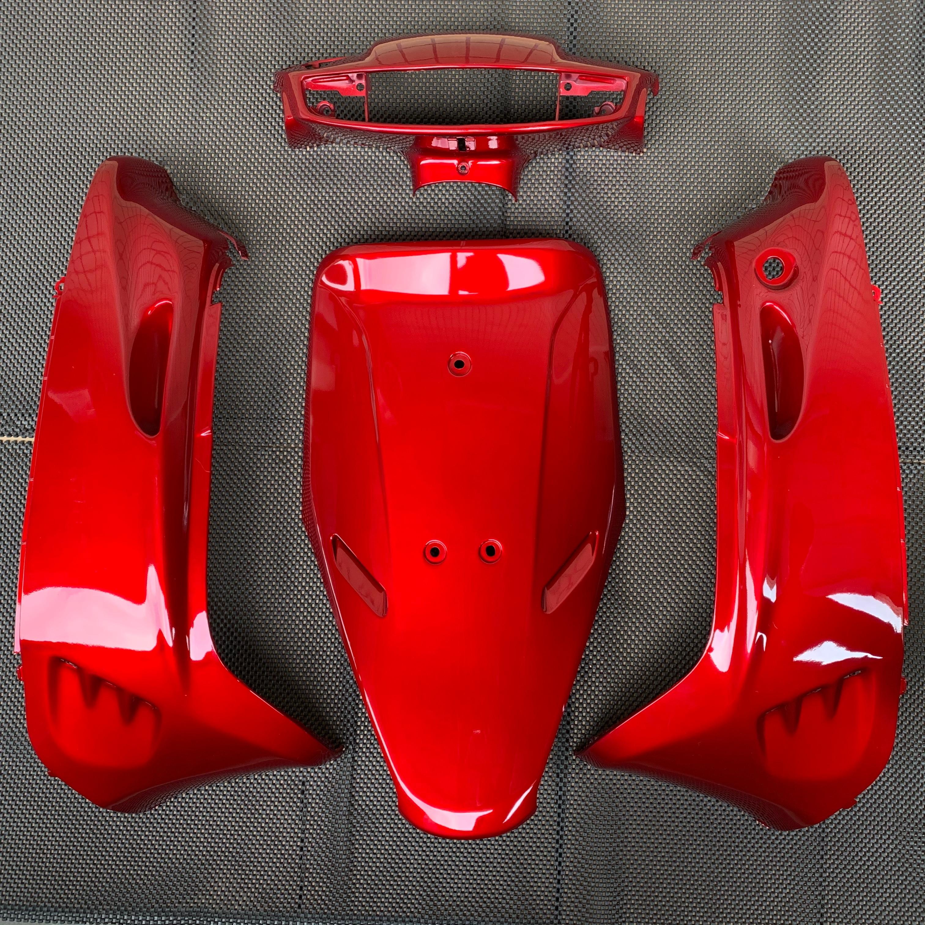 Body Kit For DIO50 AF17 AF18 AF25 Outer Panel Scooter Shell Tail Light ABS Plastic Dio 50
