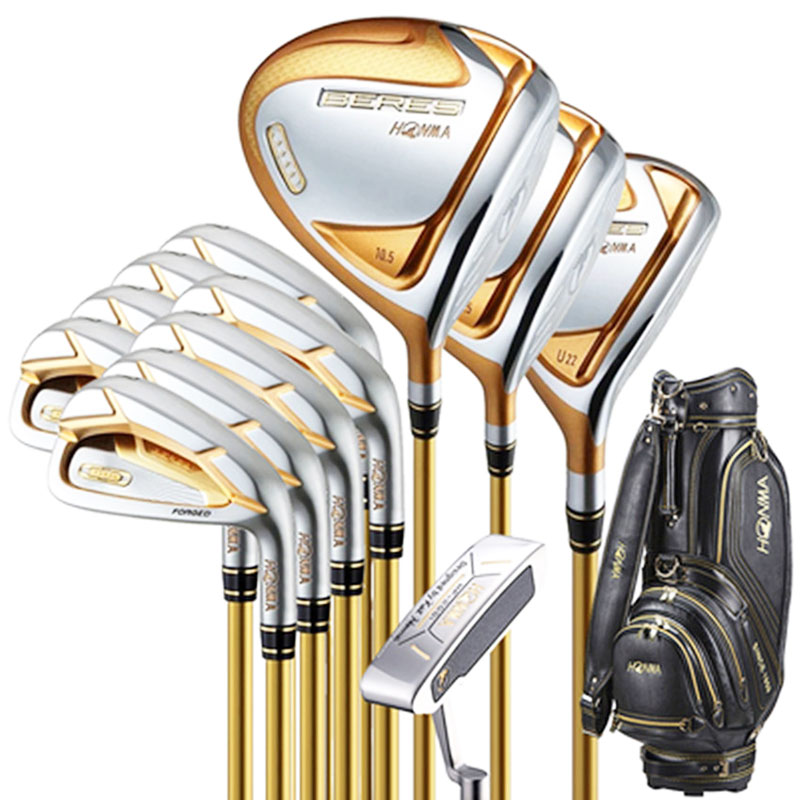 New Golf club HONMA S-07 4 star Golf complete clubs Driver Fairway wood irons Putter bag Graphite Golf Shaft with Headcover 1
