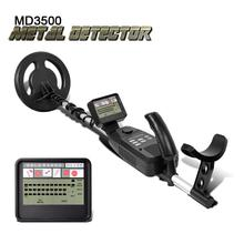 Professional Underground Metal Detector MD-3500 MD3500 Metal Gold Silver Finder Detector Upgraded Hobby in Treasure Hunting