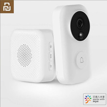 Youpin Zero AI Face Identification IR Night Vision 720P Video Doorbell C3 Set Motion Detection SMS Push Intercom Free Cloud