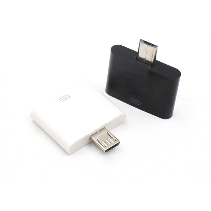 Free Shipping Dock For Iphone 4s Ipad Female To Micro USB 2.0 Male Adapter For Huawei Oppo ZTE Samsung Galaxy Note2 N7100 S4 S5