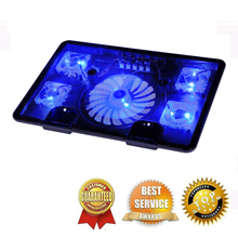 "Professional external Laptop Cooling Pad 13"" 14"" 15.6"" with laptop fan Port slide proof laptop stand for notebook cooler"