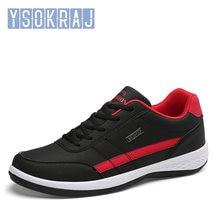 Ysokraj masculino sapatos casuais lac-up sapatos masculinos leve confortável respirável tênis de caminhada tenis feminino zapatos sapatos masculinos