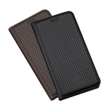 High-end bussiness genuine leather phone case for M
