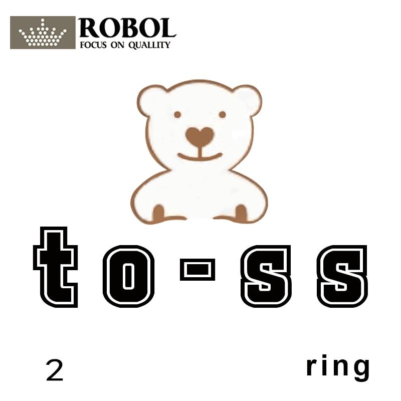 Toss Bear Sterling Silver Copy Jewelry Spanish Bear Version Jewelry Women's Fashion Ring Custom Bear Gem Material Link