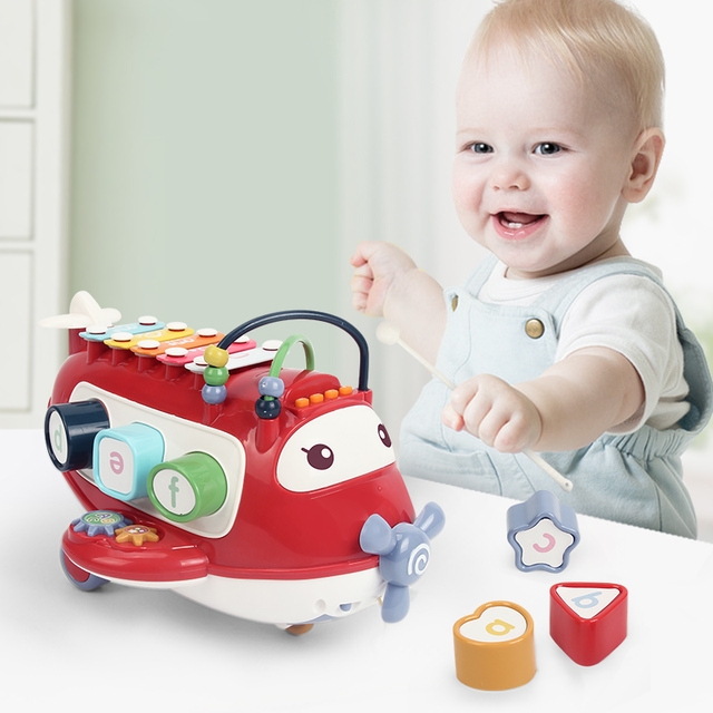 Montessori Baby Toys 13 24 Months Educational Musical Music Toy For Babies Girl 1 Year Old Birthday Gift Games For Kids Children 1